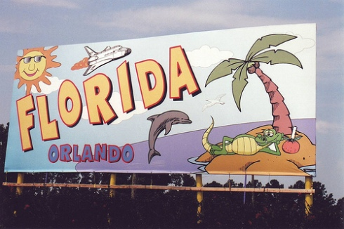 A Florida Sign in Carolina by quite peculiar on flickr