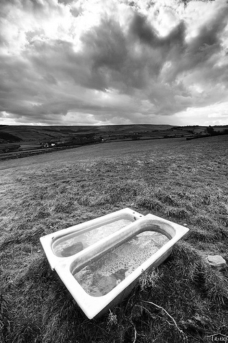 Bathtubs, Holmfirth by tricky at flickr