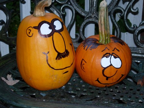 My Childhood Pumpkin Art