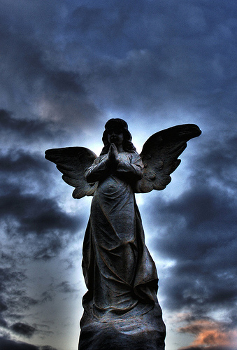 cemetary angel 002 by AdamSelwood on flickr